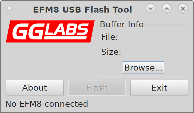 EFM8 Flash Linux