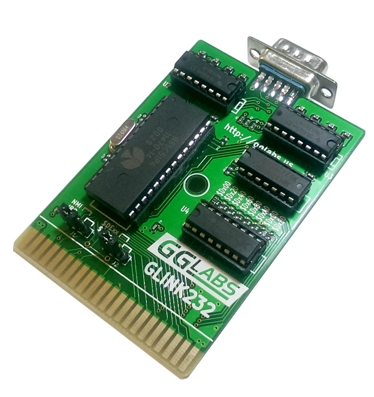 Glink232 Uart Cartridge For Commodore 64 128 Commodorecircuitboardclockjpg Both The And Have A Software Implementation That Limits Useful Speed To 2400 Bauds Work Around This Limitation Dr Evil