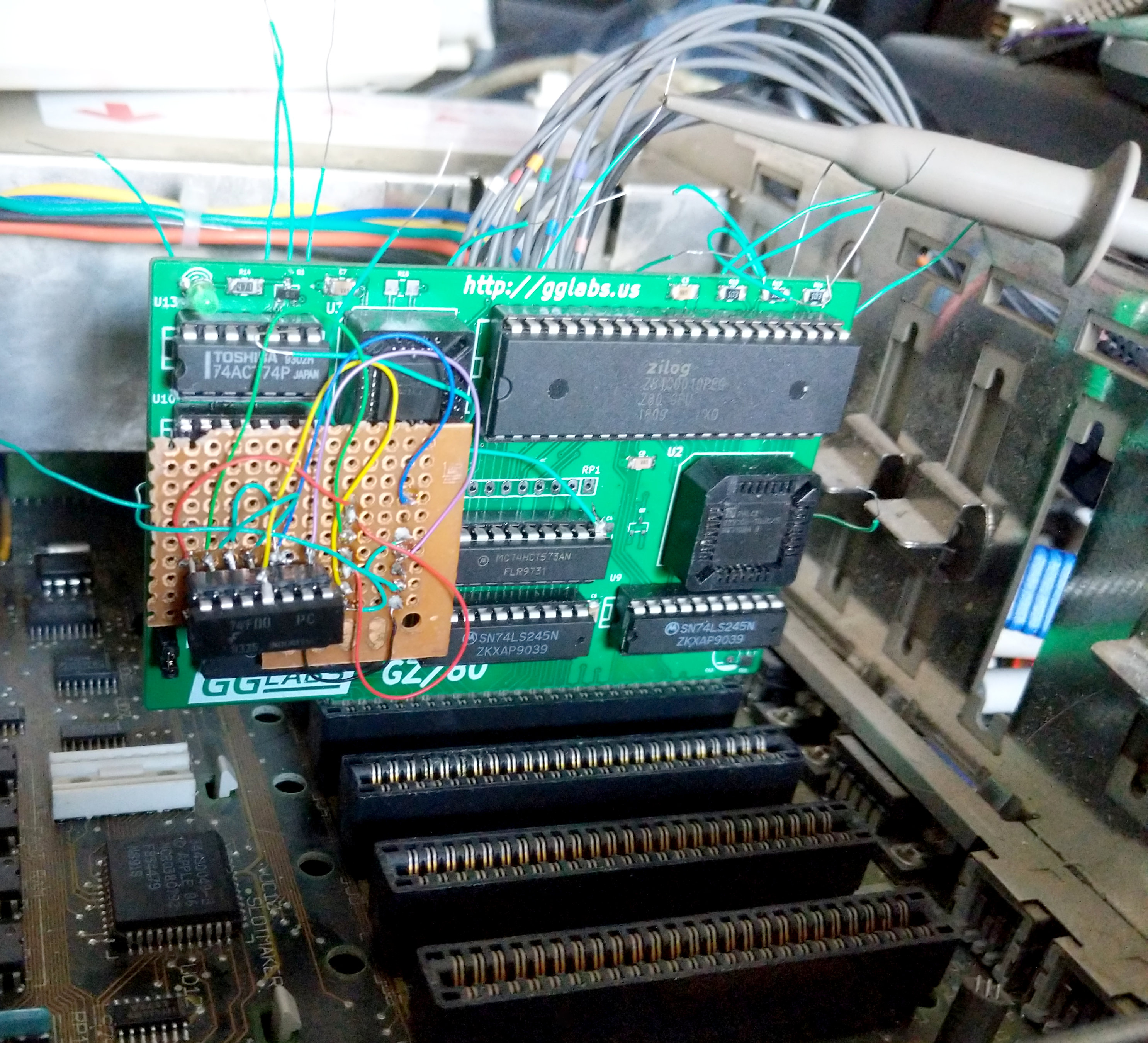 GGLABS GZ//80 Apple II//IIgs Turbo 7MHz CP//M Card Softcard compatible Zilog Z80